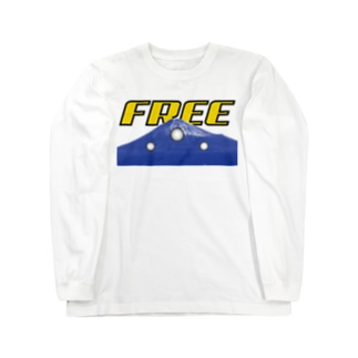 FREE FUJISAN Long sleeve T-shirts