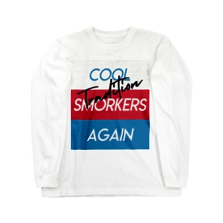 Cool Smokers Again Long sleeve T-shirts