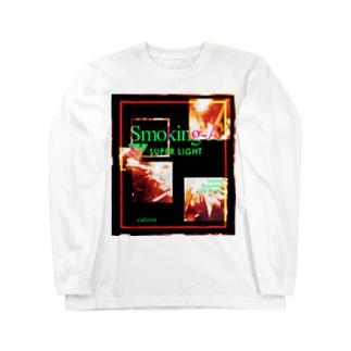 燃え尽きて終わる Long sleeve T-shirts