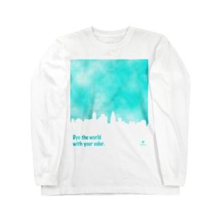 染まる Long sleeve T-shirts