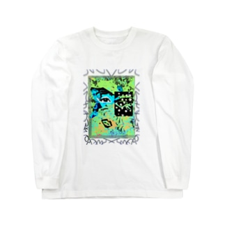 NEOnPINK_K_ Long sleeve T-shirts