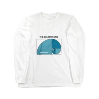 フィボナッチ数列 黄金比率  Long sleeve T-shirts