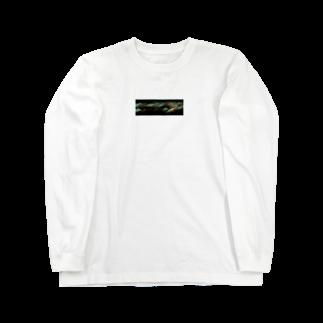 モノカキさんの揺れ、溢れる夜 Long sleeve T-shirts