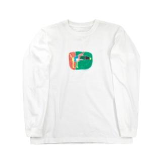 いぬとり Long sleeve T-shirts