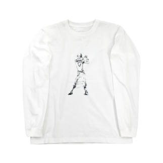 白い踊り子 Long sleeve T-shirts