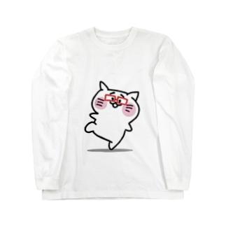 ブチ山さん Long sleeve T-shirts