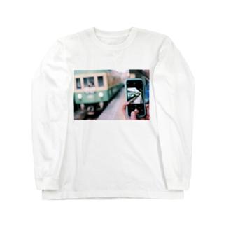 過ぎ去るは青春 Long sleeve T-shirts