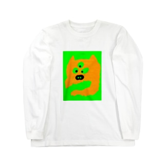 魔犬 Long sleeve T-shirts