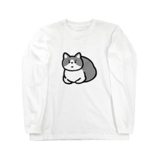 ふてねこ Long sleeve T-shirts