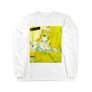 シリコン メイド ドールフェイスver. Long sleeve T-shirts