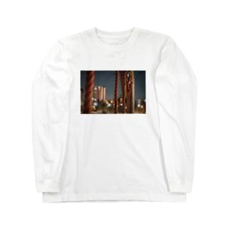 rope×night Long sleeve T-shirts