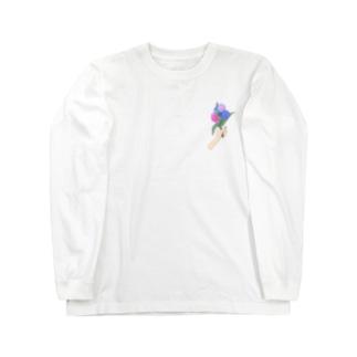 花あげる Long sleeve T-shirts