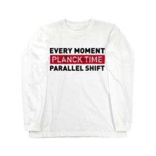 パラレルシフトT Long sleeve T-shirts
