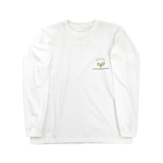 双子葉類 Long sleeve T-shirts