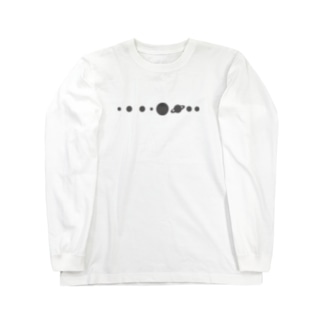 惑星だけ。 ロンT Long sleeve T-shirts