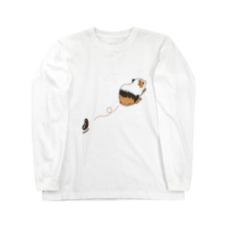 モルモットの落し物 Long sleeve T-shirts