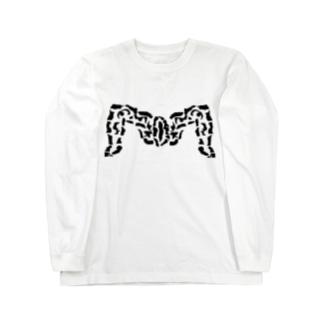 古代ローマのM字開脚(まんこ) Long sleeve T-shirts