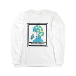 UNDER BLUE GIRL Long sleeve T-shirts