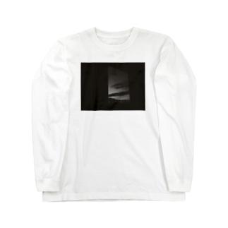 モノクロの夜 Long sleeve T-shirts