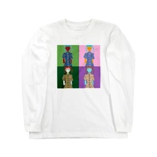 チャイナガール  Long sleeve T-shirts