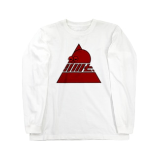 YMT.トライアングルロゴ『蛸』 Long sleeve T-shirts