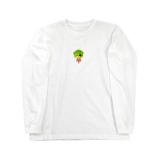 邪眼のレタスさん Long sleeve T-shirts