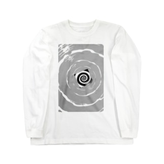 渦巻 Long sleeve T-shirts