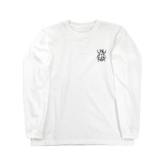 コガネムシ(黒ver.)Tシャツ Long sleeve T-shirts