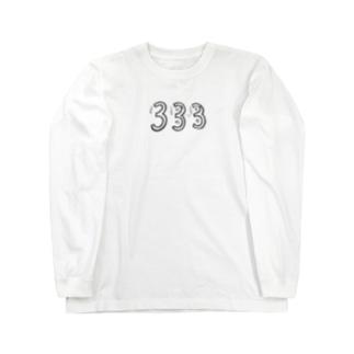 333 Long sleeve T-shirts