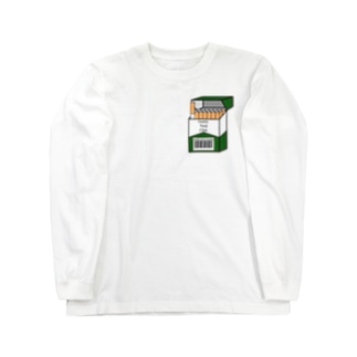 GNC heard box / green Long sleeve T-shirts