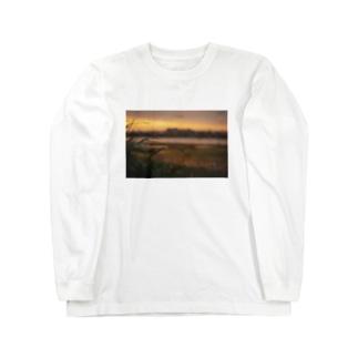 river×sunset Long sleeve T-shirts