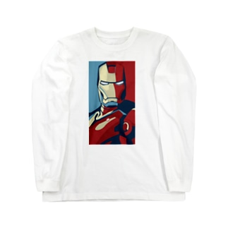 ヒーロー Long sleeve T-shirts
