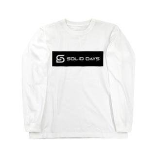 SOLID DAYS 2019 ボックスロゴ Long sleeve T-shirts