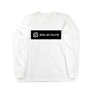 SOLID DAYS 2019 ボックスロゴ Long sleeve T-shirts