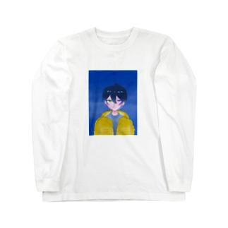 可愛いさぶろ Long sleeve T-shirts