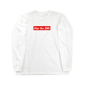 Mar the 30th(3月30日) Long sleeve T-shirts