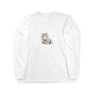 たんちの肖像画 Long sleeve T-shirts