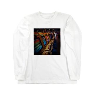 ゲーセン Long sleeve T-shirts