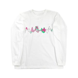 Dancing Wave Long sleeve T-shirts