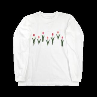 ▷            chiroruの🌷  tulip Long sleeve T-shirts