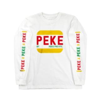 ペケプロオフィシャル Long sleeve T-shirts
