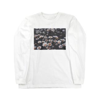 春夜花 Long sleeve T-shirts