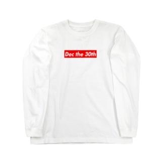 Dec the 30th(12月30日) Long Sleeve T-Shirt