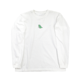 chaco shopの恐竜くん Long sleeve T-shirts
