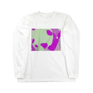 ネオンパンダちゃん Long sleeve T-shirts