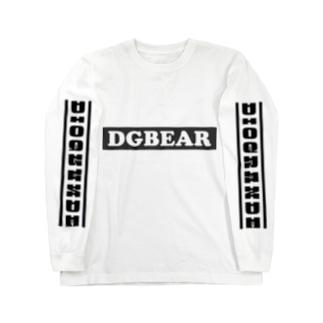 "DIOGRANDE JAPAN ""DGBEAR"" レプリカデザイン Long sleeve T-shirts"