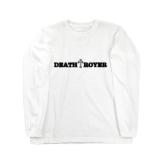 "DIOGRANDE JAPAN ""DEATH TROYER"" SUZURI限定レプリカデザイン Long sleeve T-shirts"