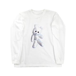 くまきちマニア Long sleeve T-shirts