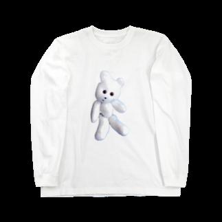 くまきちの店のくまきちマニア Long sleeve T-shirts