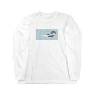 およぐ Long sleeve T-shirts